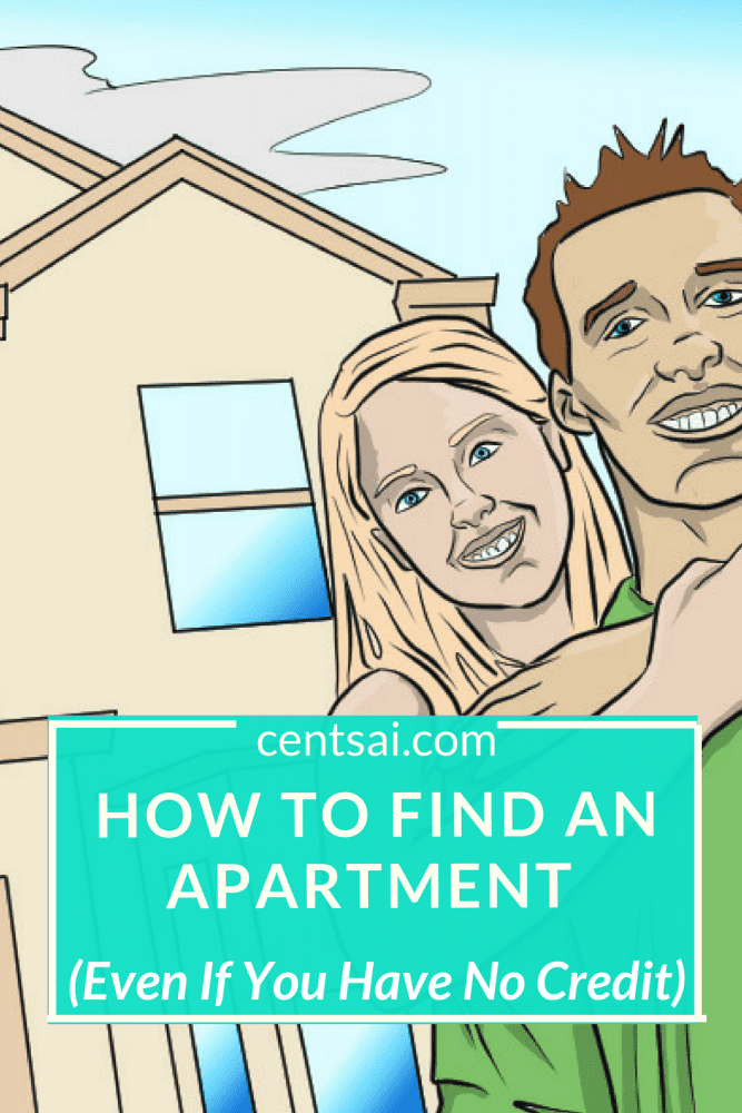 How to get an apartment with no credit