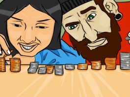 My Frugal Friends Make Me Richer - Art by Jonan Everett