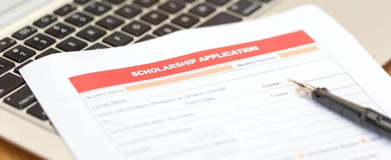 A scholarship program may be a scam if