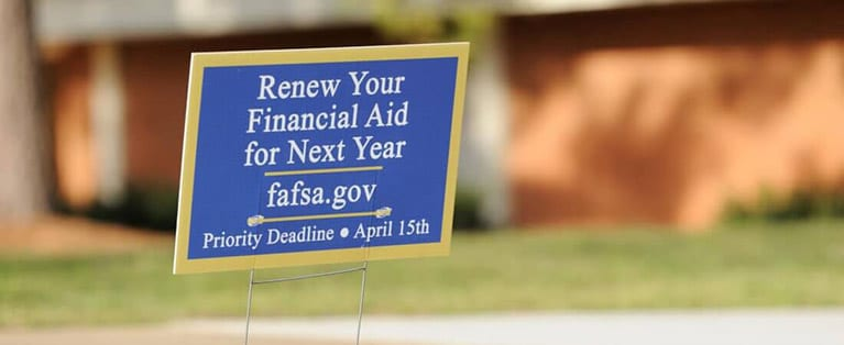 After completing your FAFSA, you will