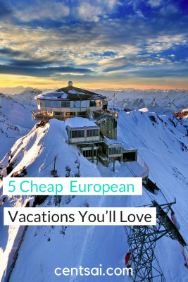 5 Cheap European Vacations You'll Love. Do you dream of visiting Europe, but worry that you can't afford it? There are ways to take that trip without breaking the bank. Check out these cheap European vacations that both you and your wallet will love. #travel #Europe #vacation