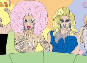 How to be a drag queen | Art by Jonan Everett