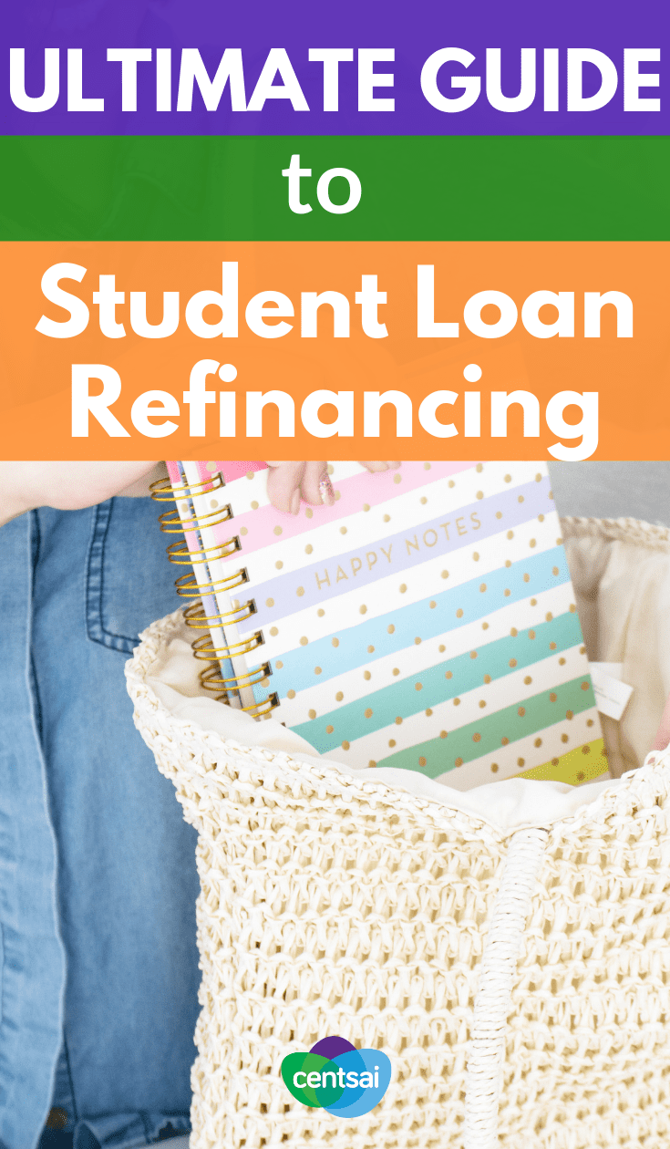 The Ultimate Guide to Student Loan Refinancing. #Studentloandebt can be a serious burden, but refinancing can make a huge financial impact. Read up on your options to eliminate your student loan #debt #personalfinance #personalfinancetips