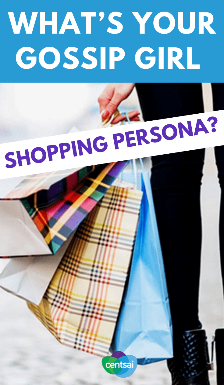 """Are you a #frugal fashionista like Jenny or a high-class """"it girl"""" like Serena? Find out your Gossip Girl shopping persona with a #funquiz #frugalideas #frugal #frugalfun"""