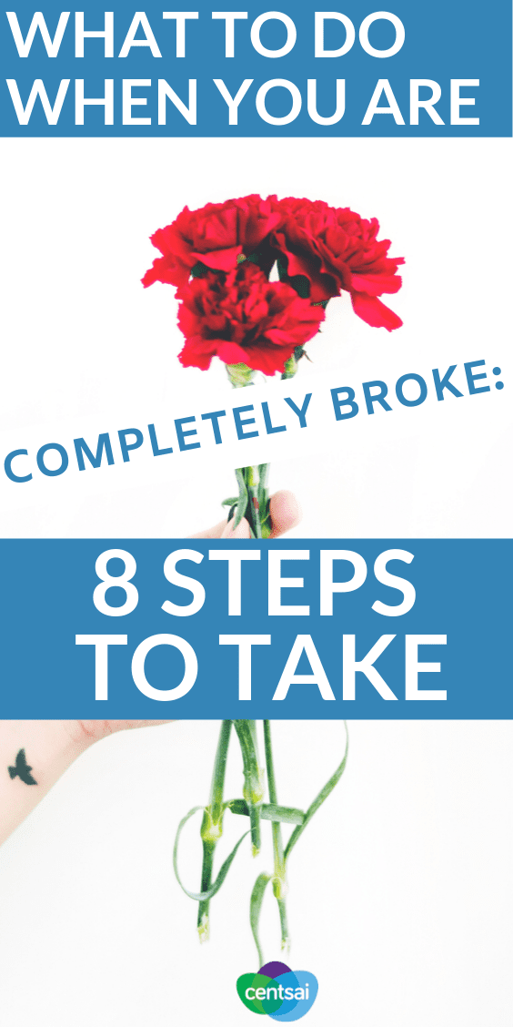 Here's the straightforward guide to when you're completely broke and need money asap. #FinancialLiteracy #financialfreedom #personalfinance #finance #financeplanning