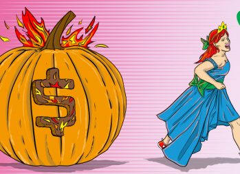 What is a TEACH grant? Cinderella running away from a loan pumpkin | art by Jonan Everett