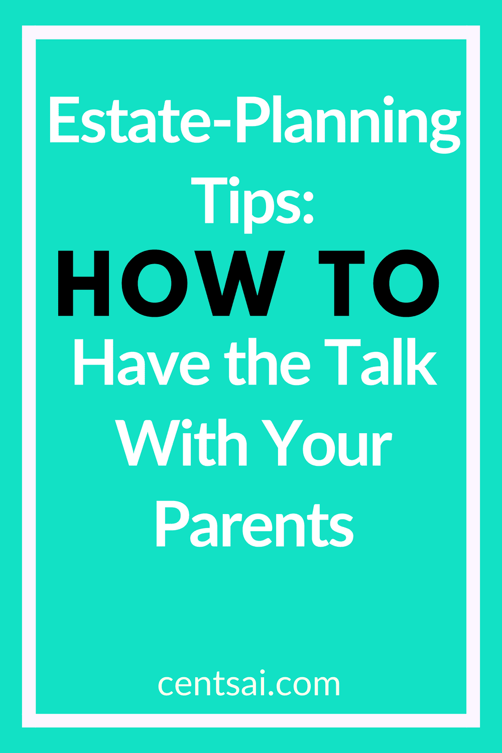 Estate-Planning Tips: How to Have the Talk With Your Parents. Are you ready to deal with your parents' wills or debt after they die? It may sound morbid, but it's crucial to plan. Check out these estate-planning checklist and tips. #estateplanningchecklist #estateplanning #estateplanningtips