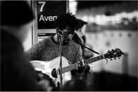 NYC subway performers: Gabriel Mayers
