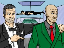 'Ocean's 11': Money Lessons From Danny Ocean | Art by Jonan Everett