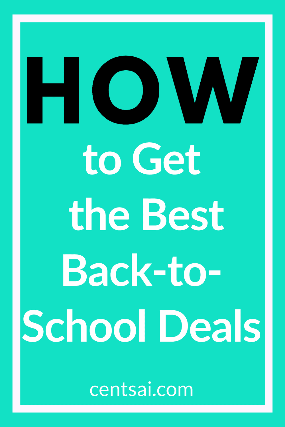 How to Get the Best Back-to-School Deals? Are you truly taking advantage of back-to-school sales? You may not be. Check out tips for how to find the best back-to-school deals. #backtoschool