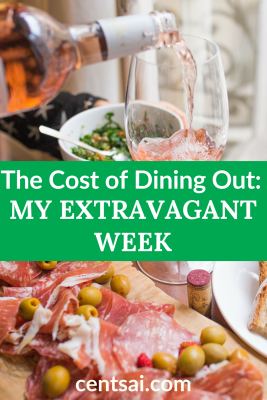 The Cost of Dining Out: My Extravagant Week. What happens when your childhood friend visits for a week? Too many extravagant adventures, that's what. Join me as I spend oodles on dining out this week. #extravagant #lifestyle