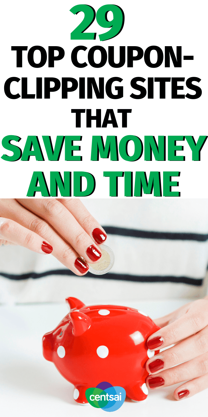 Want to save money, but hate spending all that time finding coupons? Check out these top coupon-clipping sites to save money and time. #CentSai #savemoney #savingmoneytips #savingmoneyideas #savingmoneyplan