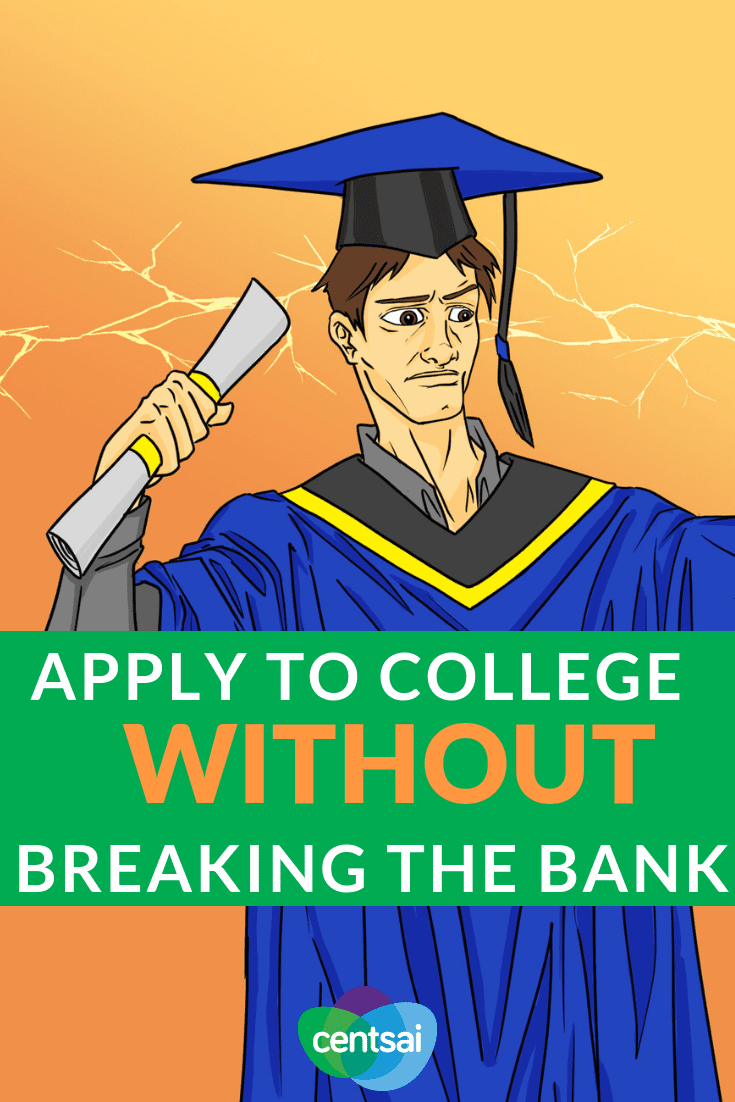 Apply to College Without Breaking the Bank. Are you in over your head with college application costs? Check out these tips and learn how to apply for college without going broke. #college #collegetips