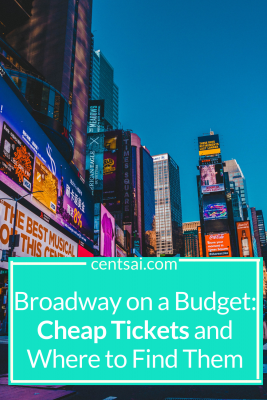 Broadway on a Budget: Cheap Tickets and Where to Find Them. Are you just dying to see Hamilton, but don't know how you'll afford it? Check out our guide and learn how to get cheap Broadway tickets. #broadway #savingtips #lifestyleblog