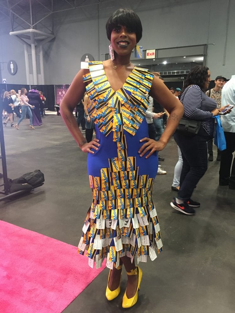 Drag queen @RobynBanksSays at RuPaul's DragCon NYC