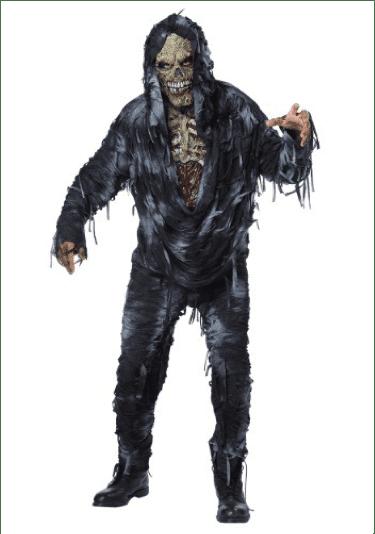 Expensive zombie costume