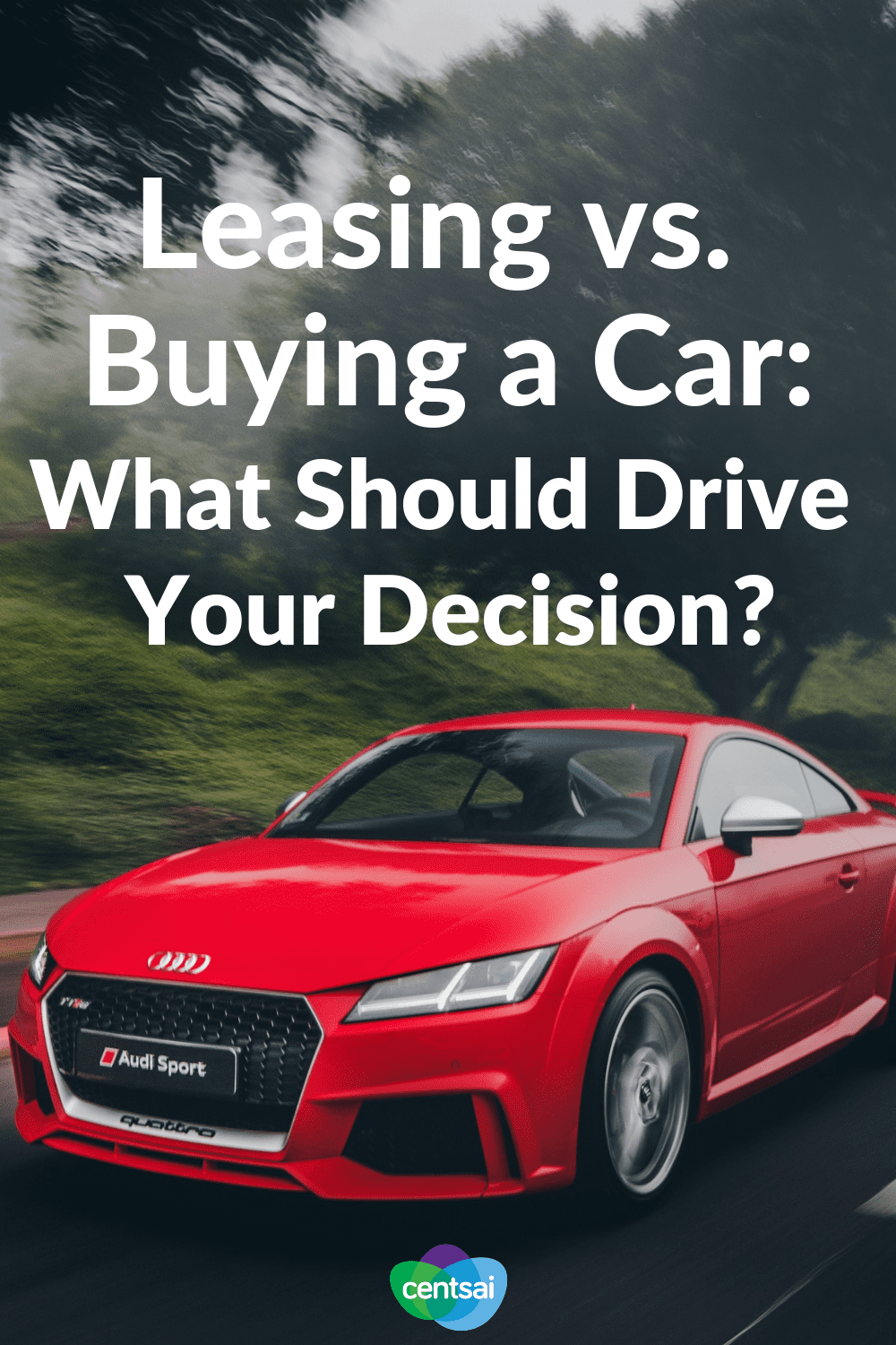 Leasing vs. Buying a Car: What Should Drive Your Decision? Should you really buy a new vehicle? Might it be smarter to temporarily lease it? Check out our comparison of leasing vs. buying a car. #Leasecar #frugaltips #frugallifehacks #buycar