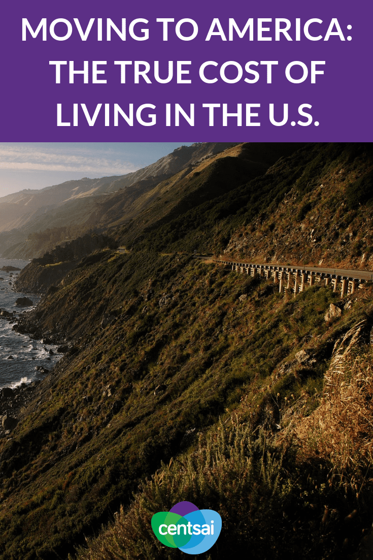 Moving to America can come with big surprises. Don't get sticker shock from the cost of living in the U.S. Learn what to prepare for today. #US #travel #wedding
