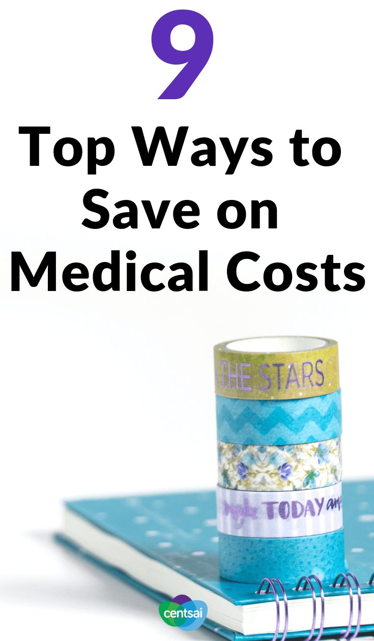 9 Top Ways to Save on Medical Costs. Does the cost of health care make you feel sick all over again? You're not the only one. Check out these ways to save on medical costs. #healthinsurance #healthcare #savingtips