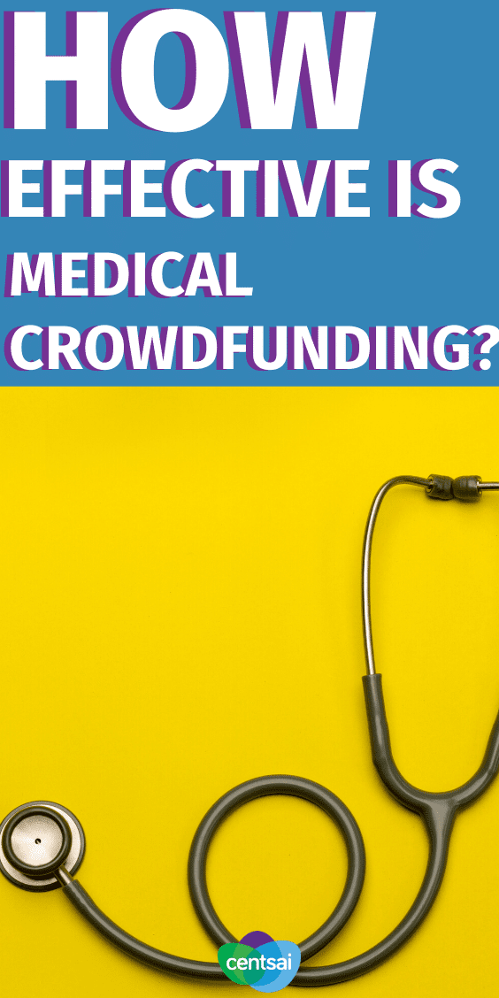 Do the high costs of health insurance and medical bills have you in a bind? Could medical crowdfunding help you? Learn the pros and cons. #CentSai #medicalcrowdfunding #Healthinsurance #medicalbills