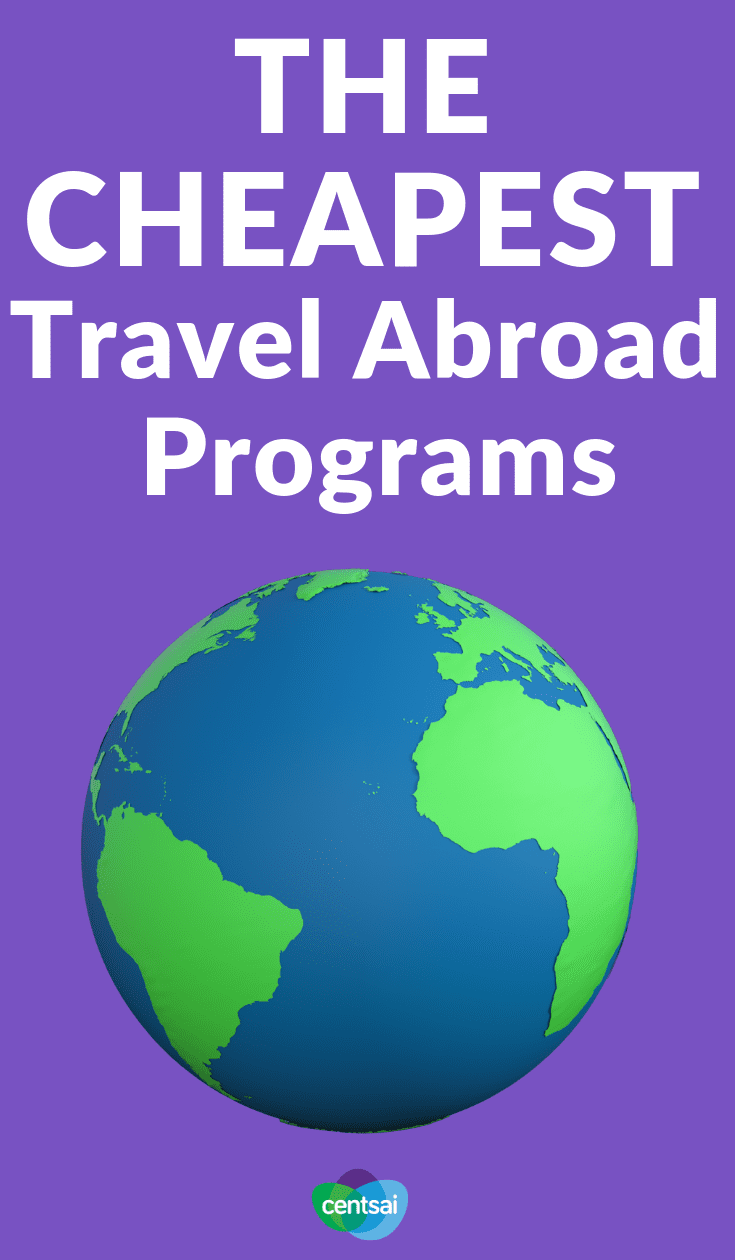 The Cheapest Travel Abroad Programs. Grasping for things to do during a gap year after high school? We've got an idea for you: work abroad programs. Learn how they work today. #travelabroadprogram #frugalliving #careerblogs #travel