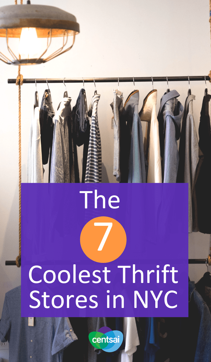 The 7 Best Thrift Stores in NYC. Need new clothes, but got a budget? Look no further than your local thrift shop. We found some of the best thrift stores in NYC. #thriftstoresfind #thriftstorefashion #budgeting #frugaltips
