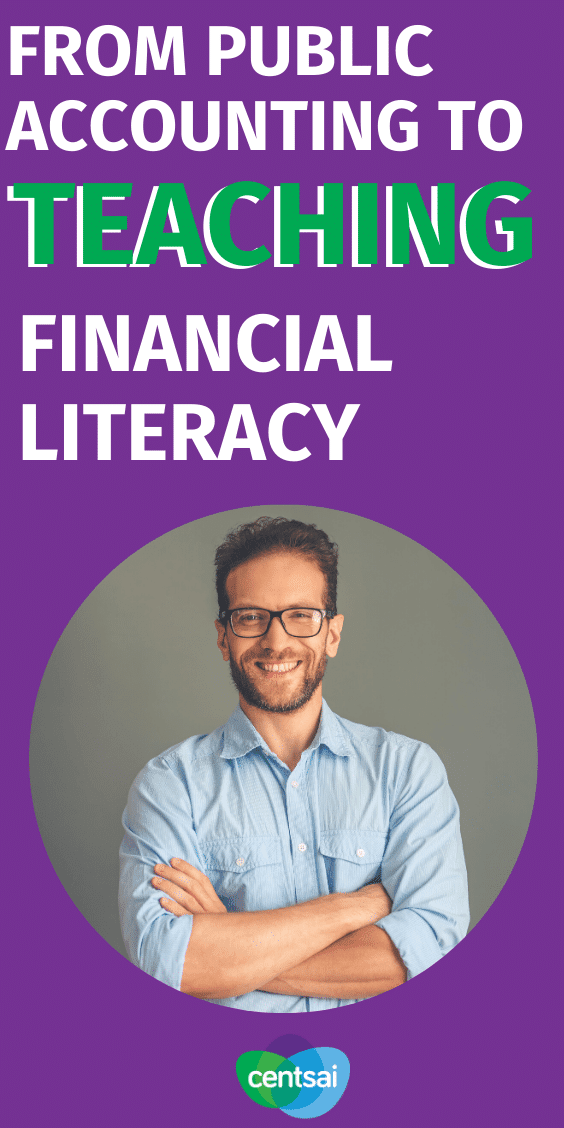 Learn how one CPA went from public accounting to starting a business and teaching financial literacy to millennials and college students. #CentSai #financialplanningforbeginners #financialplanning #entrepreneurmotivation #FinancialLiteracy #financialfreedom