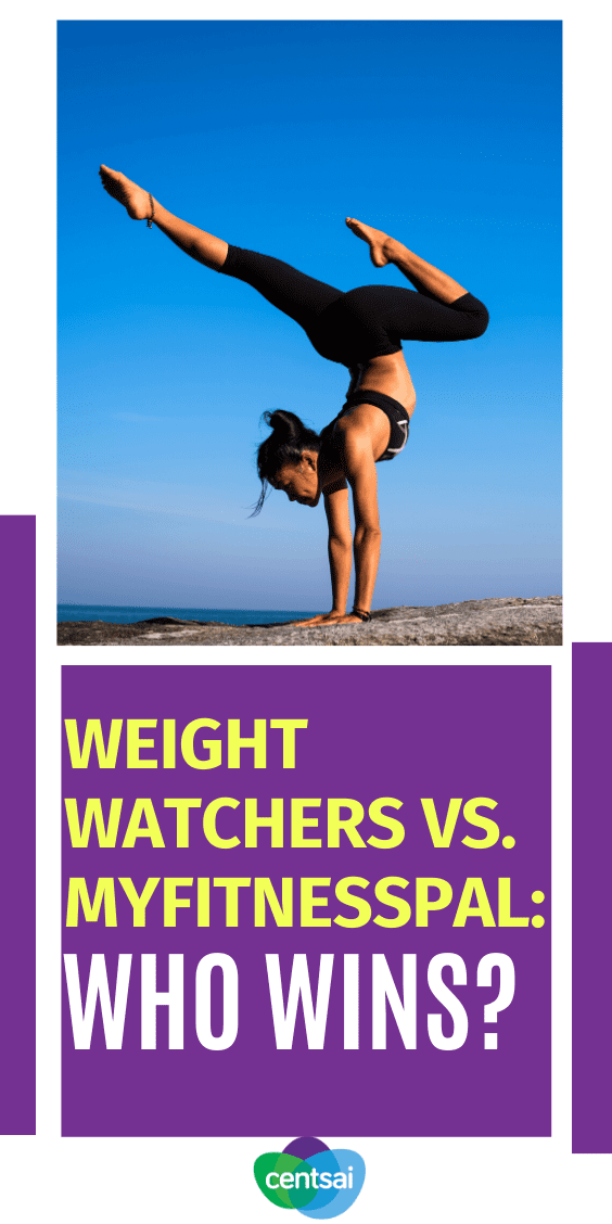 What's the best program to lose weight? And is it worth paying for? Check out our comparison of Weight Watchers vs. MyFitnessPal. #weightwatchers #lostweightmotivation #CentSai