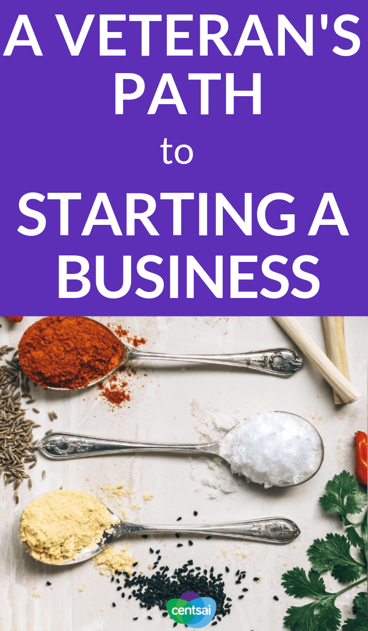 A Veteran's Path to Starting a Business. R Kimberly Jung was quick to find new adventures after her military service. Don't miss out on her story of how she started her saffron business, Rumi Spice. #Entrepreneurshipblog #entrepreneurship #business