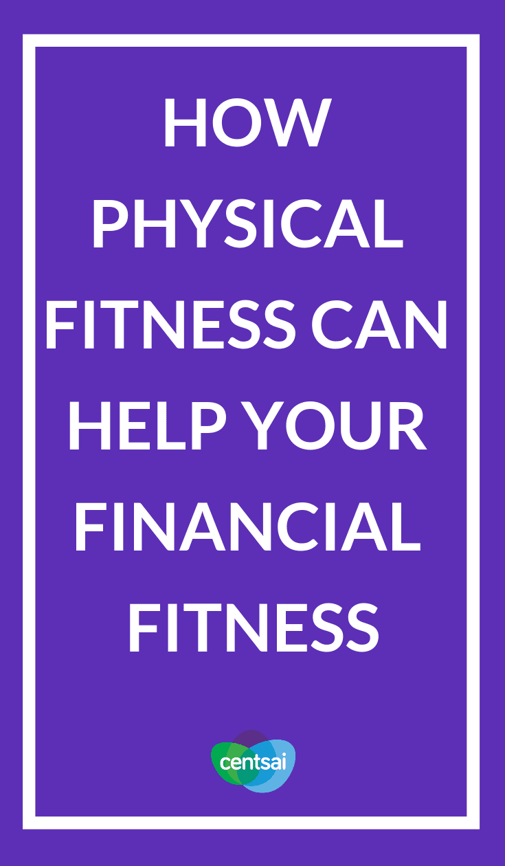 How Physical Fitness Can Help Your Financial Fitness. Good money habits aren't too different from healthy habits. Learn what physical fitness can teach you about financial fitness. #physicalfitness #financialfitness #financialfitnessprogram