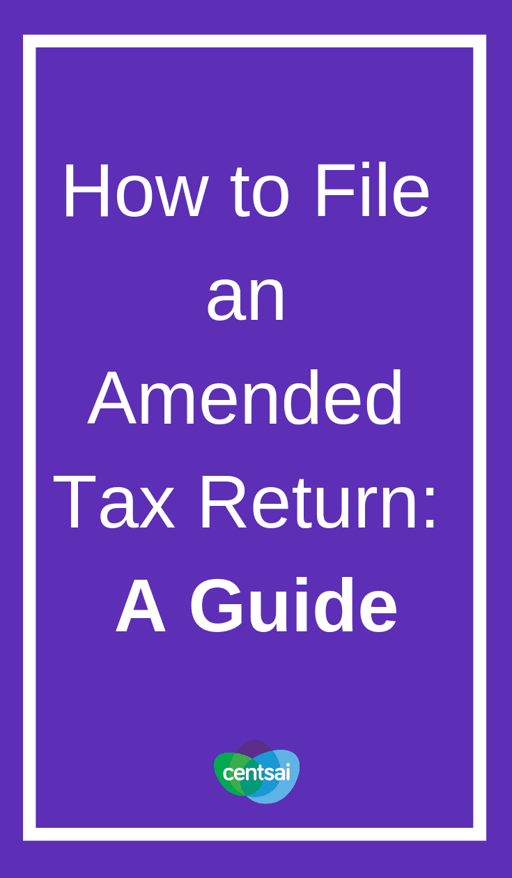 How to File an Amended Tax Return: A Guide. Did you leave important info off of your tax return? Learn how to file an amended tax return today so you can avoid penalties. #tax #taxreturn #taxreturntips #taxreturnhowtospend