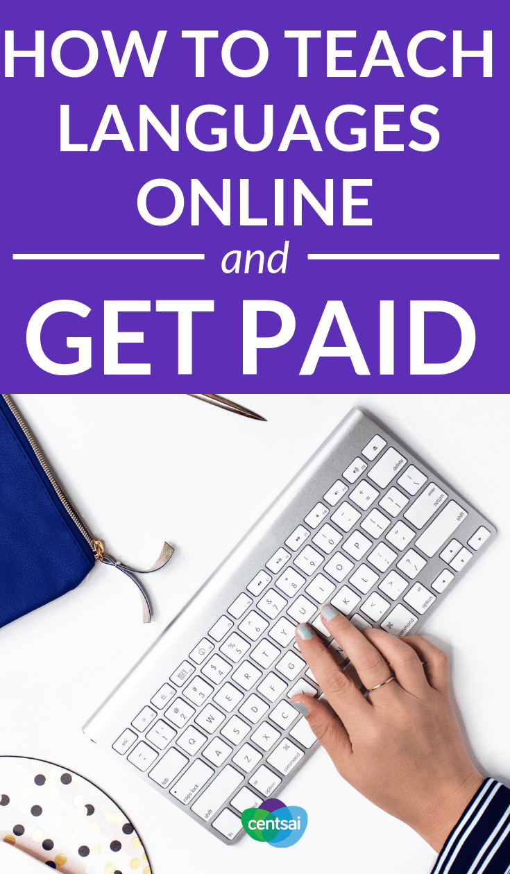 How to Teach Languages Online and Get Paid. Are you multilingual? Want to earn some extra cash? The internet makes it easier than ever. Learn how to teach languages online and get paid. #teachlanguagesonline #teachlanguage #makemoney #extramoney #sidehustle
