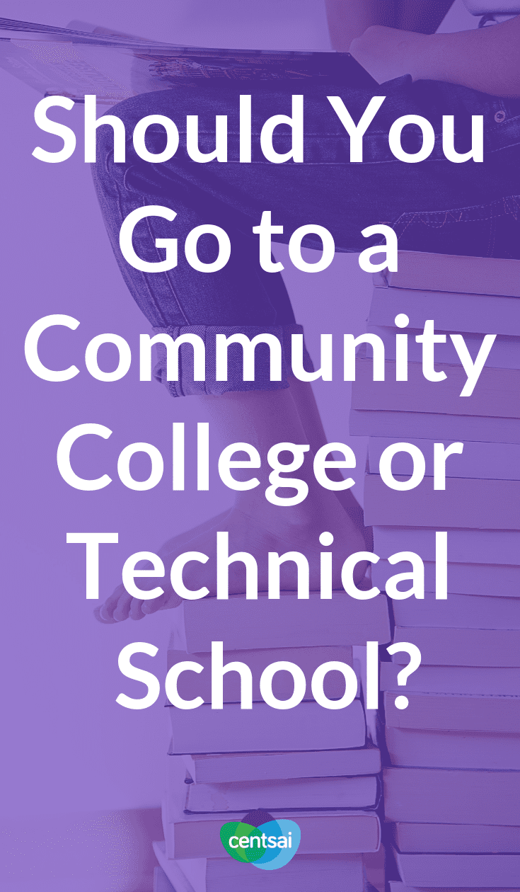 Should You Go to a Community College or Technical School? Have you thought about what you'll do next after high school? Check out the benefits of going to a community college or technical school. #educationblogs ##education #college #collegehacks
