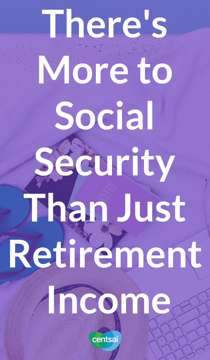There's More to Social Security Than Just Retirement Income. There are more Social Security programs than just the one for retirement. Learn what they are, how they work, and how they might help you. #socialsecurity #retirement #retirementincome #Income #personalfinance