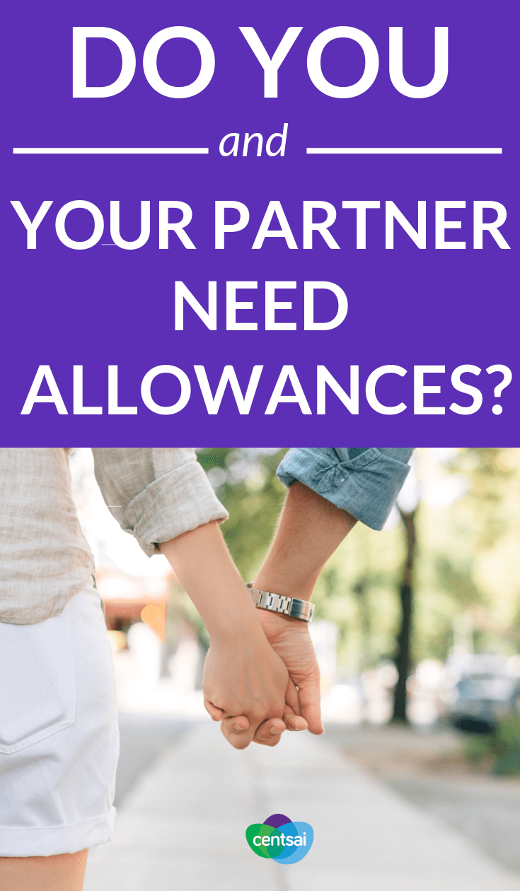 Do You and Your Partner Need Allowances? Sometimes #spouses can have trouble figuring out a couple's budget with combined finances. Check out how creating allowances can help. #relationship #marriage #budget