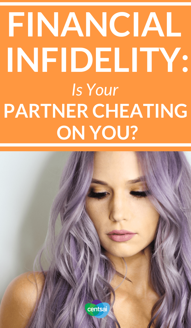 Signs of #FinancialInfidelity : Is Your Partner Cheating On You? Sexual and emotional cheating aren't the only things that can destroy a relationship. Financial infidelity can, too. Learn the signs today. #marriage #relationships