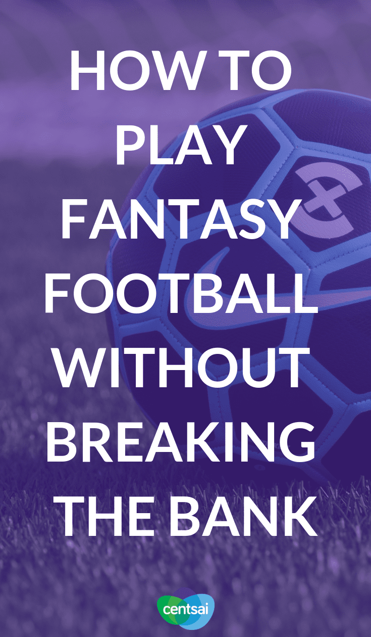 How to Play Fantasy Football Without Breaking the Bank. Betting on football can be fun, but be careful or you'll end up broke. Get tips on how to play fantasy #football without emptying your wallet. #lifestyle #savingtips #frugalhack
