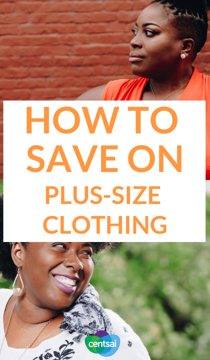 How to Save on Plus-Size Clothing. Staying under budget when clothes shopping is never easy, but it's harder if you need larger clothes. Check out these plus-size shopping tips. #shoppingtips #frugaltips #savingtipsmoney #savingtipsbudget