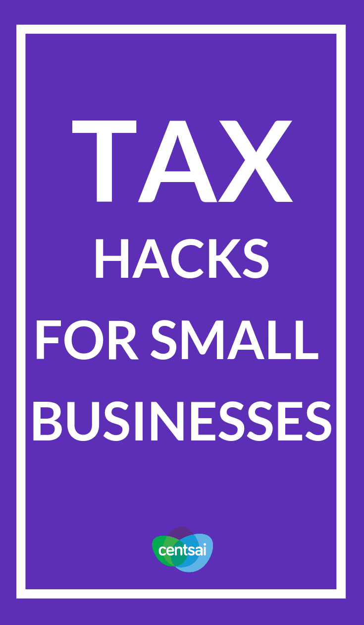 Tax Hacks for Small Businesses. If you run your own business, tax season can be needlessly confusing. Learn how to file small-business taxes with our easy-to-follow guide. #smallbusiness #taxseason #taxtips #taxestips