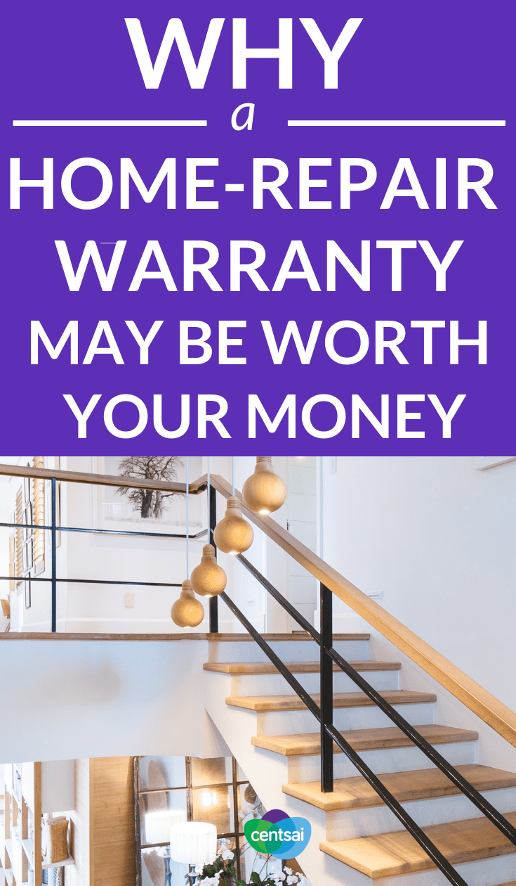 Why a Home-Repair Warranty May Be Worth Your Money. Is it a good idea to buy a home-repair warranty? Check out the pros and cons to figure out if it's the right choice for you. #homerepair #money #realestate #investing #homeinvestment