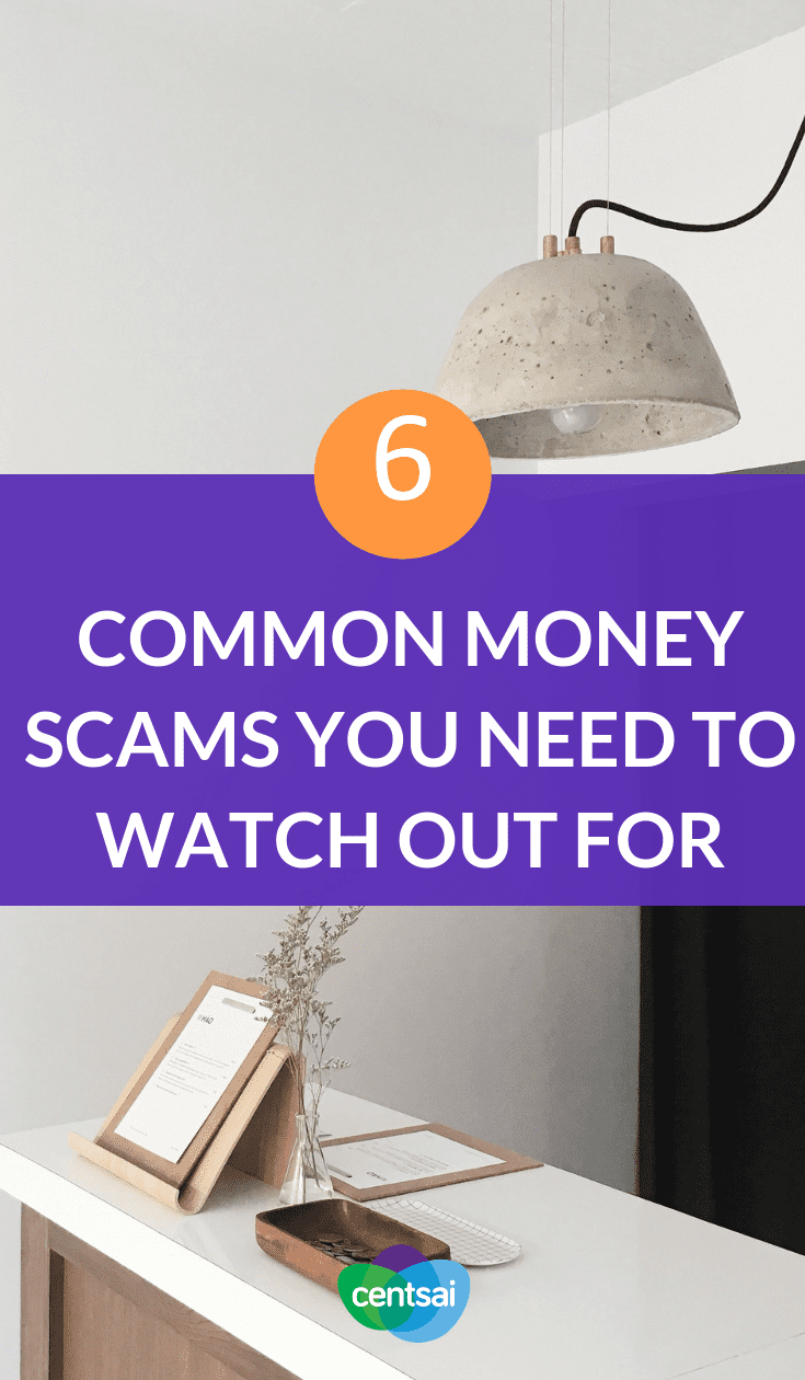 6 Common Money Scams You Need to Watch Out For. Do you know how to prevent fraud? Read up on these common scams to watch out for and steer clear of them before it's too late. #moneytips #financialexperts #personalfinance