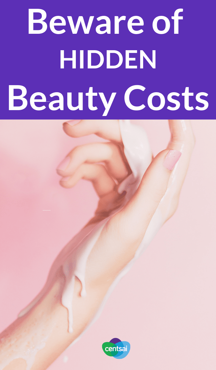 Beware of Hidden Beauty Costs. The cost of beauty can add up to thousands of dollars over just one year. Are women really doing it for themselves? Should they need to? #costofbeauty