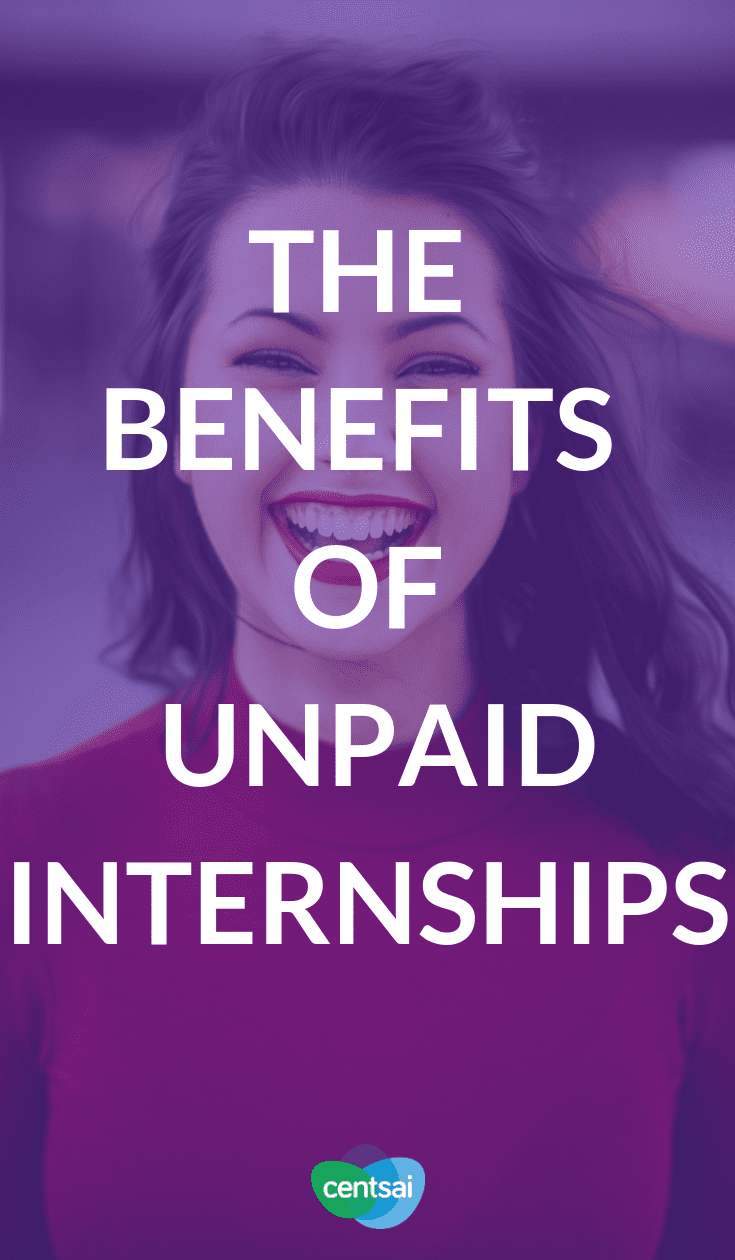 The Benefits of Unpaid Internships. Working for no pay might seem like a bad idea, but there are tons of benefits of unpaid internships. Learn how they can help you today. #internships #career