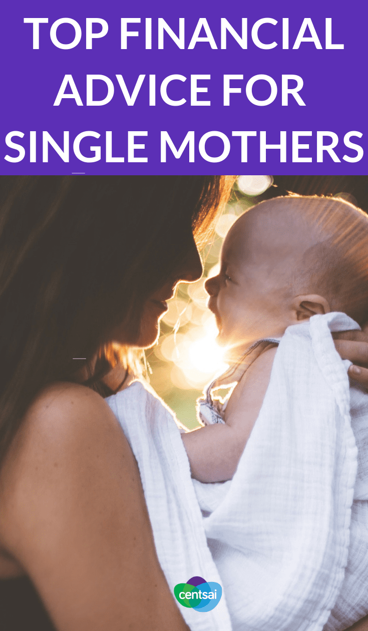 Top #FinancialAdvice for #SingleMothers Being a single mom can be tough. You often need help to stretch money as far as possible. Check out these #financialtips for single mothers. #moneytips #parenting