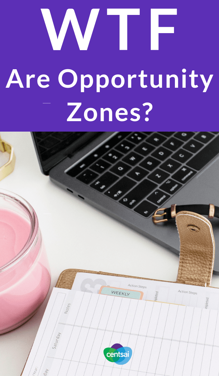 WTF Are Opportunity Zones? Trump's tax law may have one redeeming quality: Opportunity Zones. Learn what they are and how the Opportunity Zone program works. #investing #taxestips #taxtips #taxes