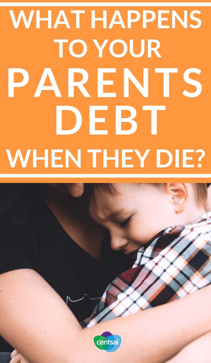 What Happens to Your Parents Debt When They Die? Just your own finances can be overwhelming. So what should you do if your parents die with debt? Are you responsible for it? Read and learn. #debt #debtmanagement #personalfinance #moneymatters