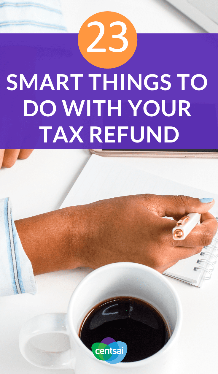 23 Smart Things to Do With Your #TaxRefund. Does the IRS owe you money this year? Check out these amazing ideas for your tax refund that will let you have fun without breaking the bank. #taxrefundtips #taxtime #taxestips #taxes