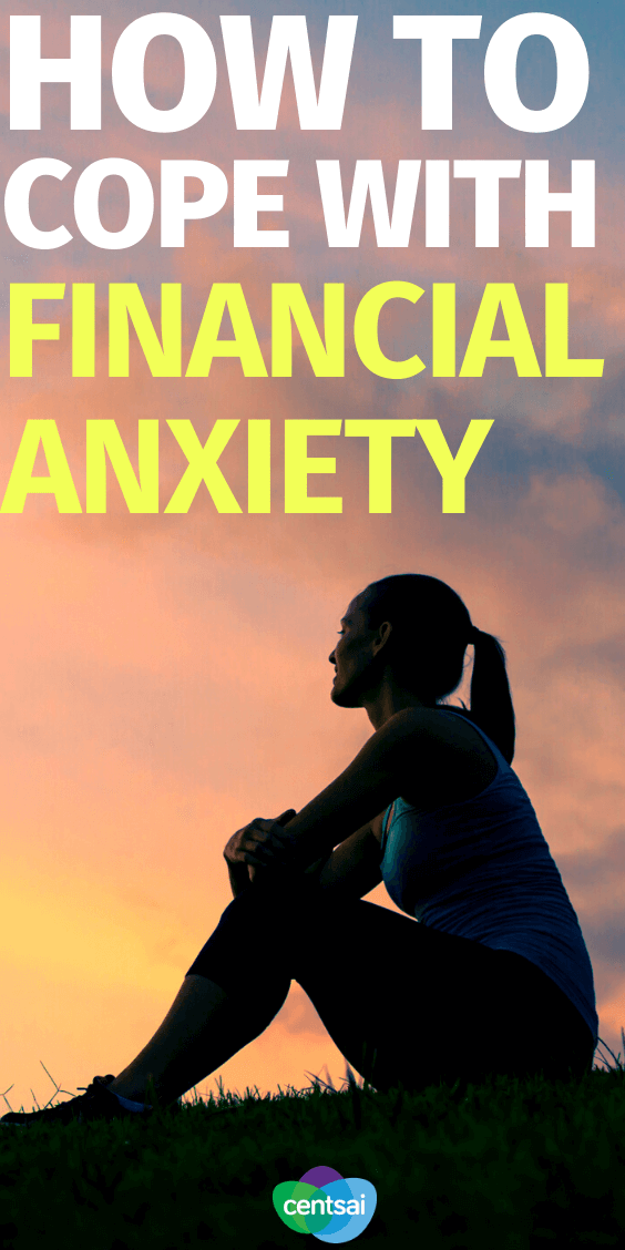 Is financial anxiety a struggle for you? You're not alone. Check out how one woman learned not to stress about money. #financialliteracy #financialplanning #financialindependence #CentSai #finanxialanxiety
