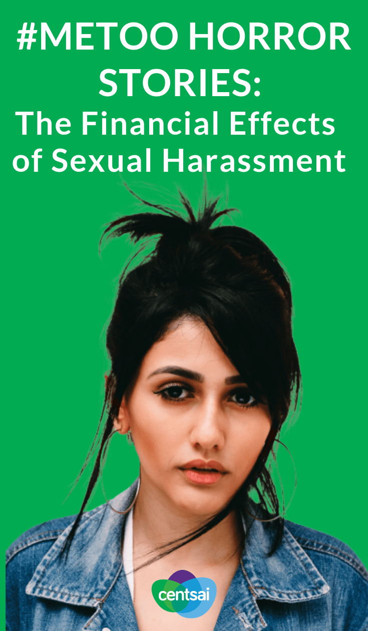 #MeToo Horror Stories: The Financial Effects of #SexualHarassment, it can come at a cost that few expect. Learn the #financialeffects of sexual harassment from these women's #MeToo stories. #personalfinance #women #financialliteracy #moneymatters