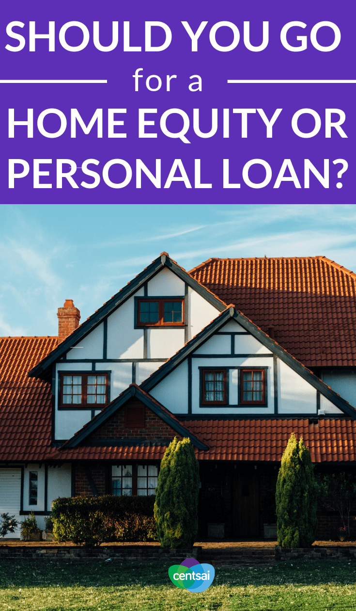 Should You Go for a #HomeEquity or Personal Loan? There are many ways to borrow money, but what's the best one for you? Check out this comparison of a home equity loan vs. a personal loan. #investingforbeginners #investingmoney #investing #investmentideas #investment